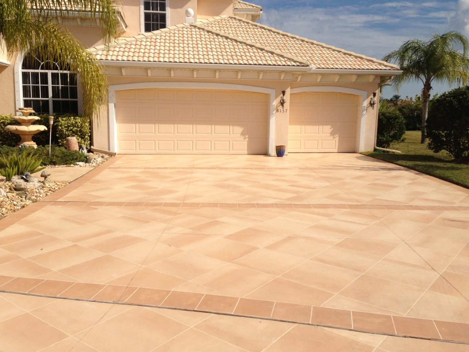 Oceanview concrete new standard for custom design for New driveway ideas